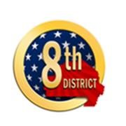 8th Congressional District - Logo - 01